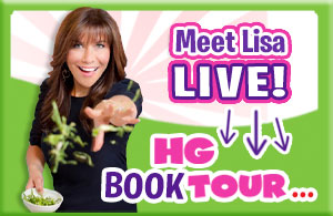 Meet Lisa Live! HG Book Tour...